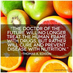 What do you think? Was Edison right? www.cornucopia.org #GoodFood #Local…