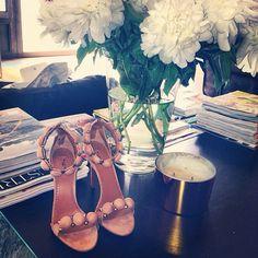 Shoes as decoration