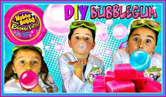 Want to watch how to make bubble gum videos? Learn how to make homemade bubble gum out of a few simple and fun ingredients, with our super fun easy Bubble Gum recipe.