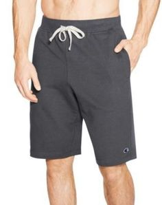 Champion Men's French Terry Gym Shorts with Pockets - 3 COLORS - S-2XL #Champion…