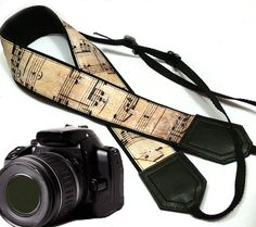 Original design Camera Strap. Music Camera Strap. DSLR / SLR Camera Strap. For Sony, canon, nikon, panasonic, fuji and other cameras.