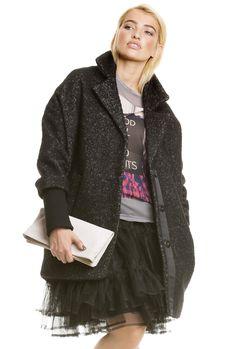 Black Swan Look - lässig geschnittener Mantel von Sarina Nowak @YOU&IDOL http://youandidol.aboutyou.de/#!/outfits/419