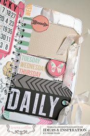 TERESA COLLINS DESIGN TEAM: Take Note journal using Daily Stories collection with Cheri Piles