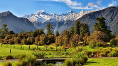Franz Josef Village New Zealand Winter Travel Outfit, Road Trip Usa, Packing Tips For Travel, Amazing Destinations, Cool Places To Visit, West Coast, Adventure Travel, New Zealand, Travel Inspiration