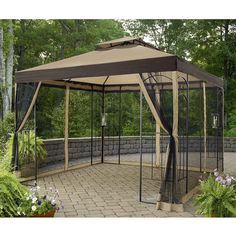Amazon.com: Sunjoy Replacement Canopy Set for Arrow Gazebo: Garden & Outdoor