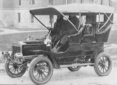 1905 Dolson Touring Car-J.L. Dolson & Sons (Elmore & Elton) Co. was a popular Charlotte, Michigan manufacturer of horse drawn carriages in the early 1900s. Like so many makers of wagons and carriages of the time they entered the American Automobile market in 1904-1907.The J.L. Dolson & Sons Co. first automobile was a 5 passenger Touring Car that was equipped with a Westerfield two cylinder water cooled engine that developed 15 horsepower.