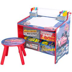 Fisher price disney cars 2 spiral speedway grand prix - Art desk with storage organization ...