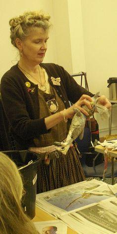 Papier mache from Julie Arkell.