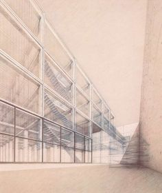 Wiel Arets, Academy of Arts and Architecture, Maastricht, 1989-1993.
