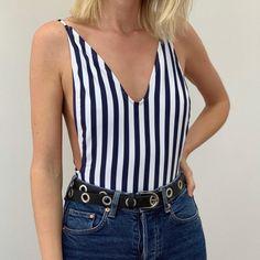 Body Listrado Pipa Body, Shop Now, Camisole Top, Tank Tops, Shopping, Women, Fashion, Online Thrift Store, Kite