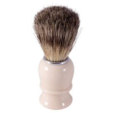 Thiers Issard Pure Badger Hair Shaving Brush - Ivory Coloured - Pure Badger Shaving Brushes - Shaving Brushes