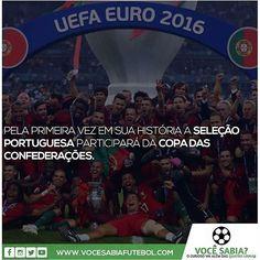 Com a conquista da Eurocopa, a Seleção Portuguesa garantiu vaga para a Copa das Confederações de 2017.
