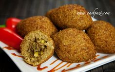 How To make Kibbeh or Kibe at home in easy steps with High Quality Video. Middle Eastern Dishes, Middle Eastern Recipes, Lebanese Recipes, Kibbeh Recipe Lebanese, Haitian Recipes, Lebanon Food, Beef Recipes, Cooking Recipes, Food Staples