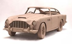 007 Aston Martin - Paper Car
