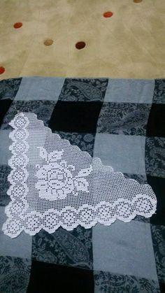 My Crochet Dream Filet Crochet, Crochet Motifs, Crochet Borders, Crochet Doilies, Crochet Stitches, Diy Crochet Gloves, Crochet Cord, Crochet Braid Pattern, Crochet Snowflake Pattern