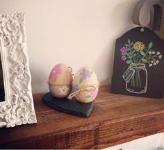 Love when my customers share photos of my work in their home. These Easter eggs are my favourite and the 'jam jar' was one of my first ever pieces!