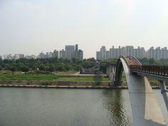 Seonyugyo Bridge at Seonyudo Park - Seoul, Korea