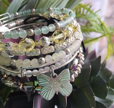 ALEX AND ANI Butterfly Set of 3 | ALEX AND ANI Spring 2017 Collection