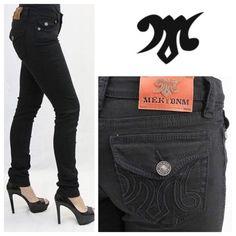 "Miss Me MEK Black Manaus Skinny Jeans MISS ME BY Mek Skinny Jeans - Manaus Black Manaus Skinny Jeans Women's Skinny Jeans Mek Denim Inseam 32"" Waist 24"" (Sz 0 small) Colored Skinnys-Black  Machine wash cold 98% cotton 2% spandex; machine wash. Fly Closure: Fly Zipper Style Name: Manaus Skinny Style Number: W2MANAC4 Basic Pocket - Signature embossed 'M' logo with embroidered details on back pockets. MEK Jeans Skinny"