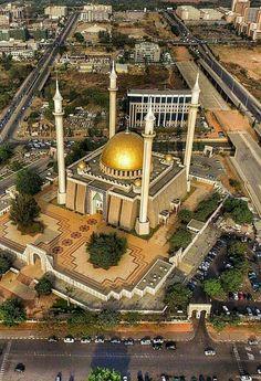 Abuja Central Mosque.