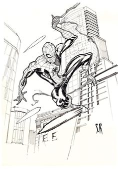 Spider-Man by StephaneRoux