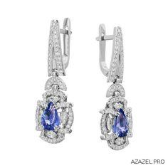 Серьги с Сапфирами Earrings with Sapphire  #earrings #moscow #алмаз #москва #сапфир #красота #бриллиант #мода #любовь #fashion  #серьги #кольцо #jewelry #flowers #ярмарка #цветы #gemstone #exclusive #handmade #эксклюзив #подарок #ювелир #almaz #перстень #diamond #сувенир #галерея #sapphire #love