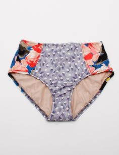 Suno Vintage High Waist Bottoms- obsessed with high waisted bathing suits