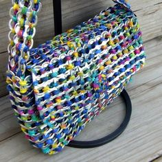Soda tab bags   The DIY Adventures- upcycling, recycling and do it yourself from around the world.