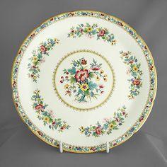 Coalport, Ming Rose vintage china decorative dinner plate c1960-90s FREE post UK/OVERSEAS postage reduced