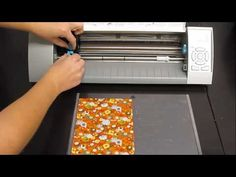 This tutorial shows how to use Silhouette's sewable fabric interfacing by cutting out fabric using the CAMEO to make dishtowels. To buy the sewable fabric interfacing click on the following link: http://silhouetteamerica.com/fabric.aspx