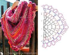Chal en crochet                                                                                                                                                                                 Más