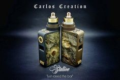 Carlos Creation has many new projects going on including his new Premium Collection the Stallion and Cosmic line. Stallion – focus is to create a luxurious mod but yet having the durability as a daily mod. Wood is classic maple burl,no fancy colours but instead keeping the wood dye strictly to dark tones like black and …