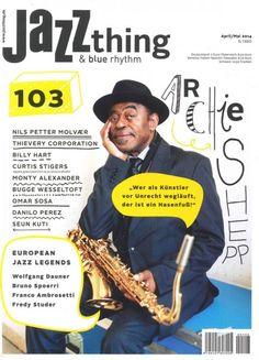 """Jazz thing 103/2014  """"European Jazz Legends: Wolfgang Dauner"""""""