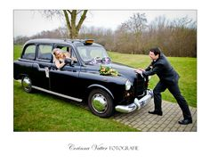 Portrait shooting - London Taxi   Hochzeitsfotograf Corinna Vatter, Duisburg, Germany   Hochzeitsfotograf   Wedding Photographer