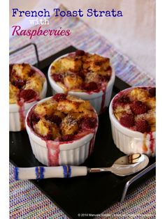 Lets Brunch - French Toast Strata with Raspberries