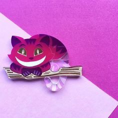 Image result for deer arrow cheshire cat brooch