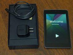 Nice Asus Google Nexus 7 16GB 7in Wi Fi Black w Box 008622724786 | eBay $189.00