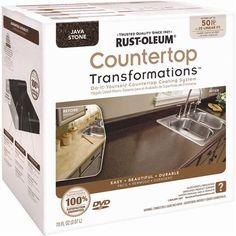 Rust-Oleum Countertop Transformations Kit, 1 qt., Java Stone