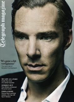 August 11, 2012 ~ Telegraph (newspaper) Magazine, London ~ Benedict Cumberbatch interview about Parade's End, and more. Plus photo gallery. [Photos by Julian Broad]
