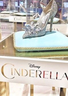 Jimmy Choo...beautiful Cinderella shoes