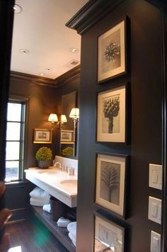 BLUE DOOR DESIGNS: DECORATING WITH BLACK - BATHROOMS The Best of home design ideas in 2017.