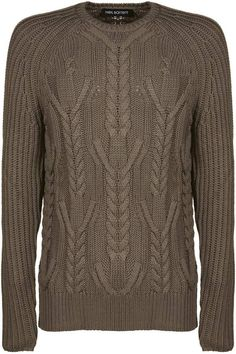 Neil Barrett Cable-knit Sweater