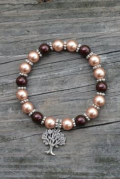 Tree of Life Swarovksi Bracelet by TTsTwistedTreasures on Etsy