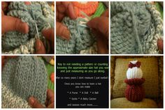 How to Close a Loom Knit Hat Easy step by step text, picture and video tutorial for beginners