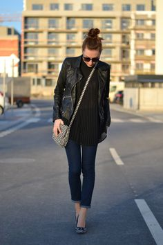 2.black and houndstooth