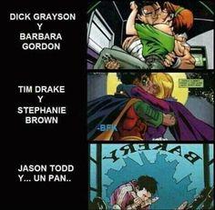 damn it jay Batman Meme, Batman Y Superman, Batman Robin, Damian Wayne, Red Hood Jason Todd, Robin Dc, Mini Comic, Dc Memes, Batman Family