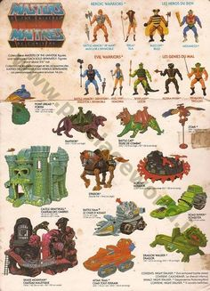 He-Man: The Masters Of The Universe - Characters