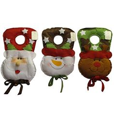 Bargain World Cute Christmas Deer Santa Snowman Xmas Gift Decoration BK527 * This is an Amazon Affiliate link. You can find out more details at the link of the image.