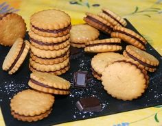 Recette - Biscuits au chocolat façon Prince de LU   Notée 4.1/5