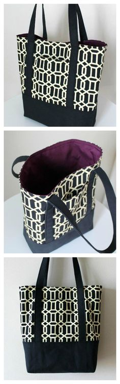 Love this heavy duty tote bag. Free pattern and step by step tutorial for how to make this very hard-wearing bag. Ideal to take to the store for your groceries or just as an every day carryall. Been using mine for months now.